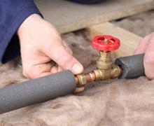 Our San Diego Plumbing Contractors Insulate Interior and Exterior Piping